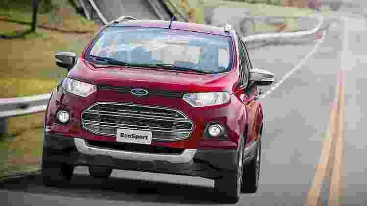 Ford EcoSport 1.6 Freestyle Powershift 2016 - Divulgação - Divulgação