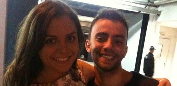 """Mônica Iozzi e Felipe Atra, o Tomate, se conheceram no """"CQC"""" - Reprodução/Facebook"""
