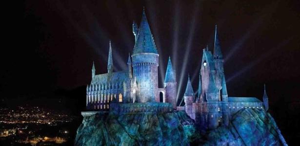 """Imagem de divulgação do novo parque temático de """"Harry Potter"""", em Los Angeles - Divulgação/Universal Studios Hollywood"""