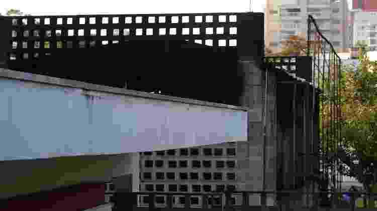 3.fev.2016 - Incêndio atinge parte do acervo da Cinemateca Brasileira, em São Paulo  - Marcos Bezerra/Futura Press/Estadão Conteúdo  - Marcos Bezerra/Futura Press/Estadão Conteúdo