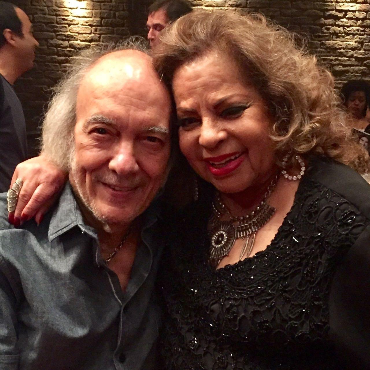 Erasmo Carlos com Ângela Maria