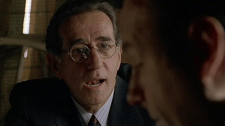 """Frank Pellegrino em cena de """"Família Soprano"""" - Divulgação"""