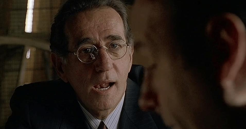 """Frank Pellegrino em cena de """"Família Soprano"""""""