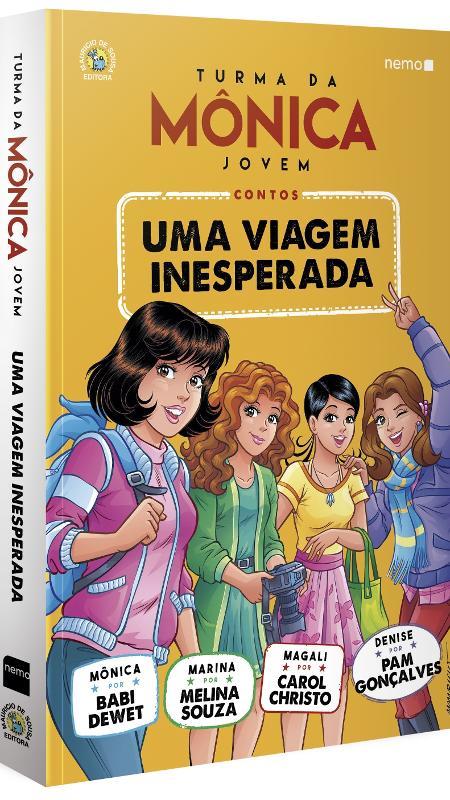 """Capa do livro """"Turma da Mônica - Uma Viagem Inesperada"""" - Divulgação"""
