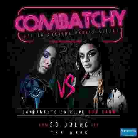 """Flyer do lançamento do clipe de """"Sua Cara"""", com Anitta e Pabllo Vittar - Divulgação"""