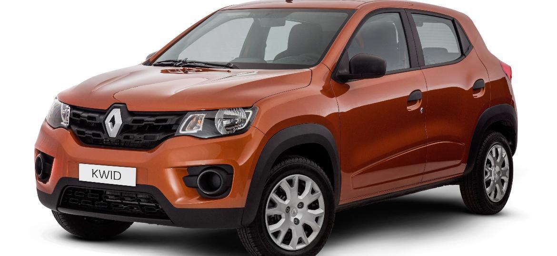 Renault Kwid Life percorre até 15,6 km com um litro de gasolina na estrada e é um dos carros mais baratos do País - Divulgação