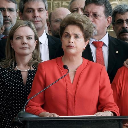 """Cena do documentário """"O Processo"""", sobre o impeachment de Dilma Rousseff - Divulgação"""