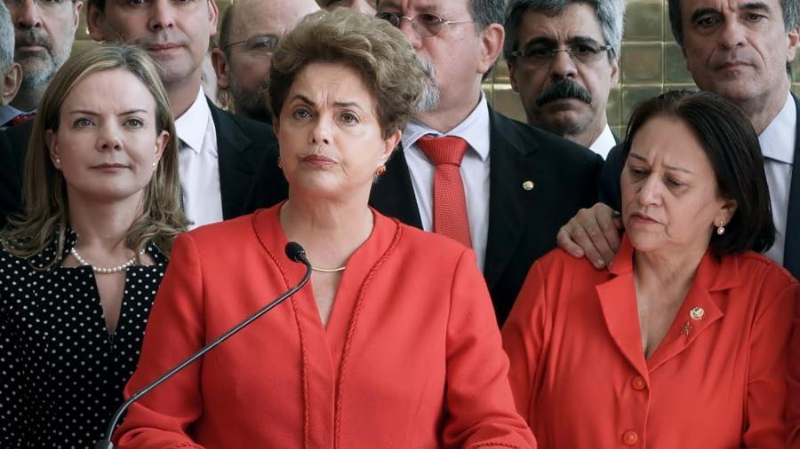 """Cena do documentário """"O Processo"""", sobre o impeachment de Dilma Rousseff, apresentado no Festival de Berlim - Divulgação"""
