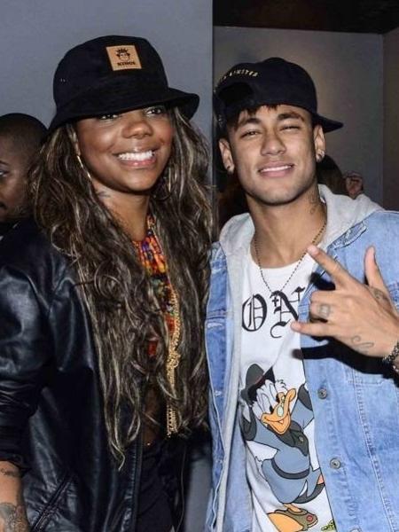 Ludmilla posta foto ao lado de Neymar - Léo Franco/AgNews