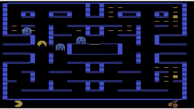 Pac Man Atari - Reprodução - Reprodução