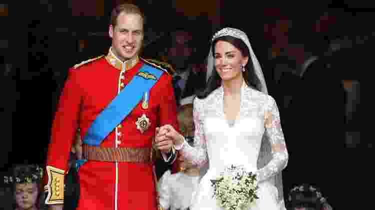 O casamento de Kate Middleton com o príncipe William - Getty Images - Getty Images