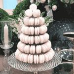 Macarons também fizeram parte da mesa de docdes - Reprodução/Instagram