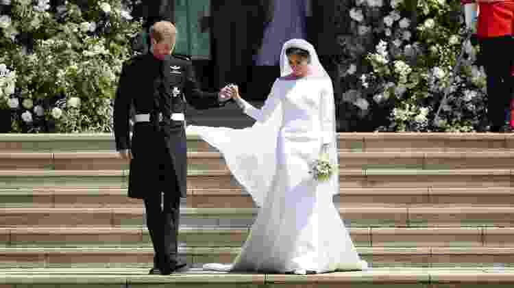 Harry e Meghan, duque e duquesa de Sussex - Getty Images - Getty Images