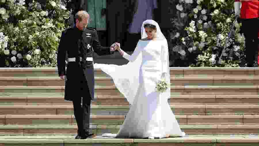 Harry e Meghan, duque e duquesa de Sussex - Getty Images