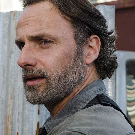 """Andrew Lincoln como Rick em """"The Walking Dead"""" - Divulgação"""
