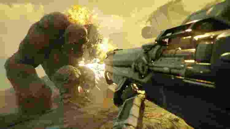 """""""Rage 2"""" pode ganhar finalmente uma data. O jogo está sendo produzido pela Bethesda. - Divulgação"""