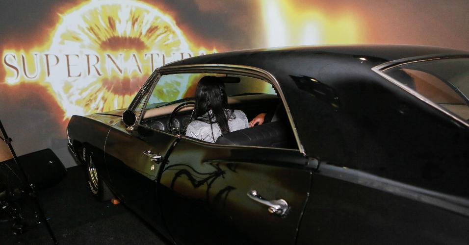 """Entre as atividades da CCXP, é possível até dar uma voltinha com Baby, o Impala dos irmãos Winchester de """"Supernatural"""""""