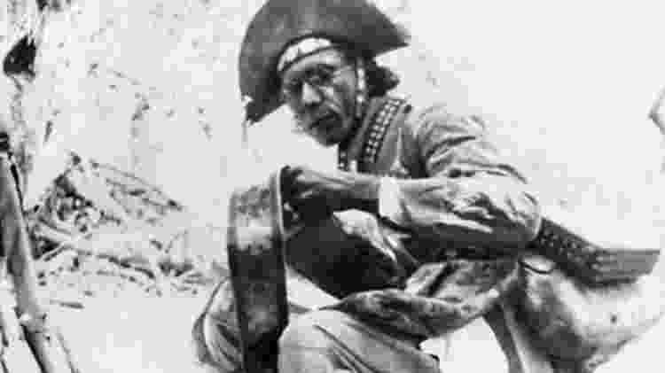 Lampião é um dos personagens mais famosos da história brasileira do século passado - Benjamin Abrahão/IMS - Benjamin Abrahão/IMS