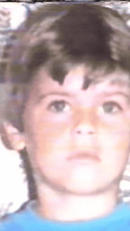 O menino Evandro - Reprodução - Reprodução