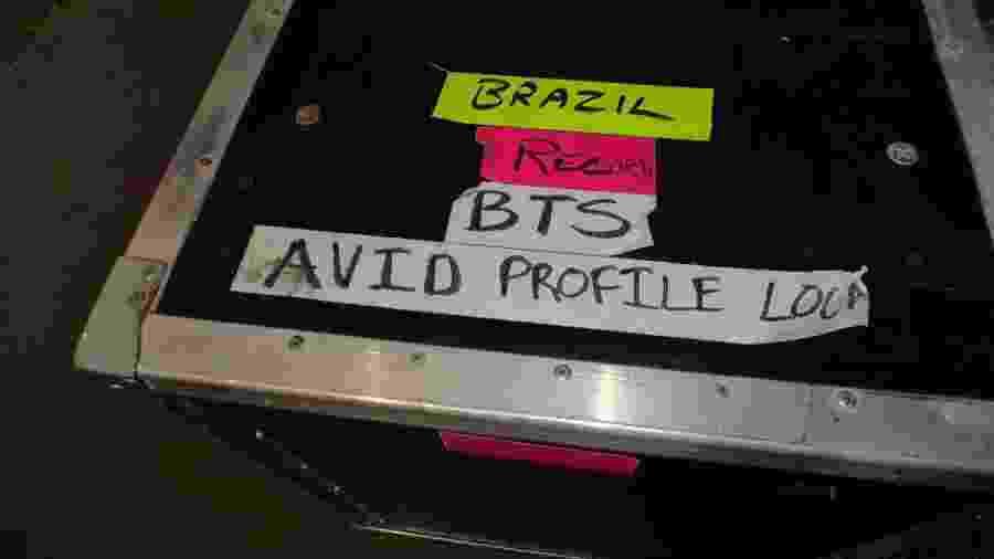Equipamentos do BTS já está no Brasil - Imprensa Viracopos