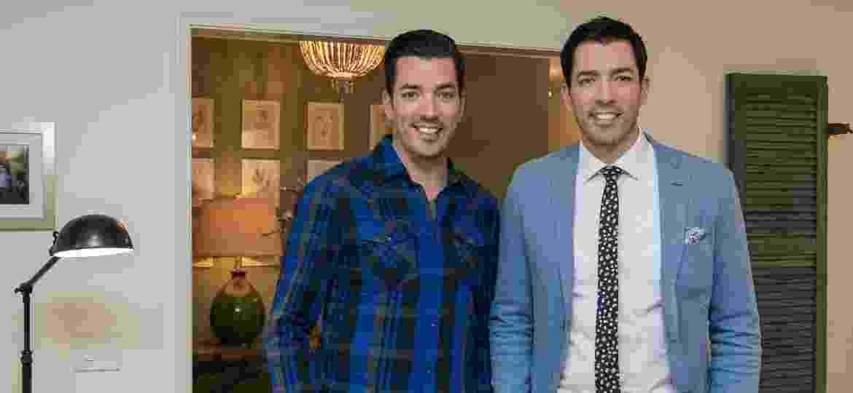 """Jonathan e Drew Scott, os """"Irmãos À Obra"""", do canal Home & Health, vêm ao Brasil em agosto - Discovery Brasil/Divulgação"""