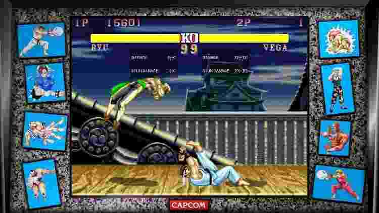 Street Fighter II - Divulgação - Divulgação
