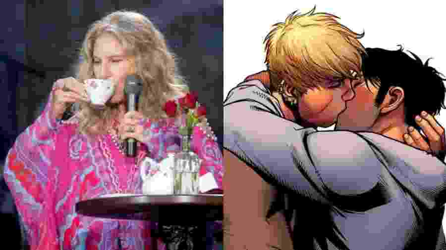 """Caso de HQ relembra """"Efeito Streisand, que são as tentativas de impor algum tipo de censura  que acabam saindo pela culatra  - Getty Images/Marvel Comics"""