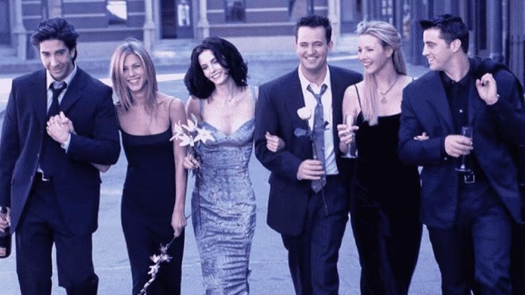 O sexteto de Friends: série estreou na TV há 25 anos e nunca deixou de ser querida - Reprodução/Instagram