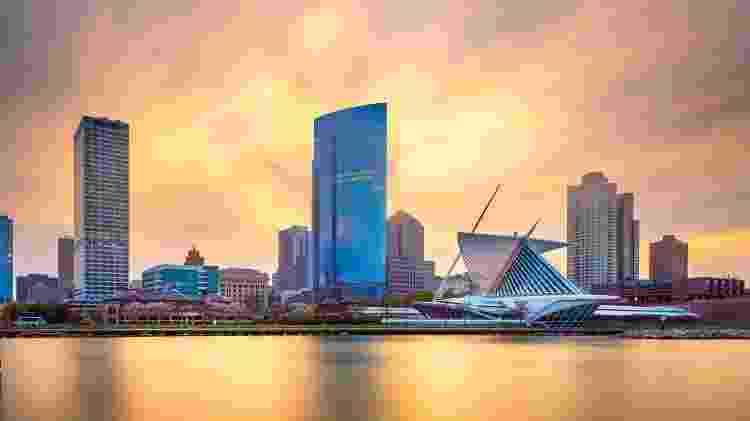 Vista de Milwaukee, em Wisconsin, nos Estados Unidos - iStock