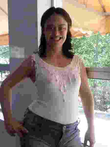 Jéssica Oliveira tem 33 anos e, até entrar na Drogasil, nunca tinha trabalhado - Arquivo pessoal