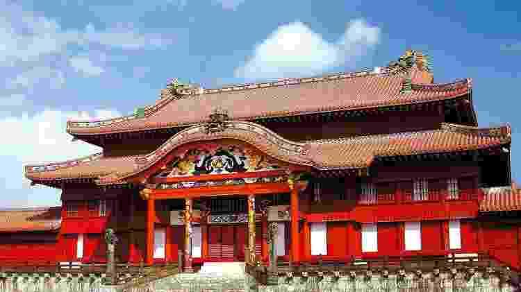 Castelo de Shuri, em Okinawa, no Japão em foto de 2010 - Nancy Kennedy/Shutterstock