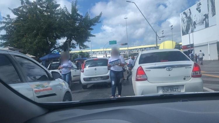 Bahia já migrou para o padrão Mercosul e faz credenciamento; Estado enfrenta fraudes e tem venda de placas no meio da rua - Reprodução