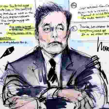 Elon Musk Tesla julgamento los angeles acusou socorrista mergulhador de pedófilo resgate meninos tailândia - Mona Shafer Edwards/Reuters - Mona Shafer Edwards/Reuters
