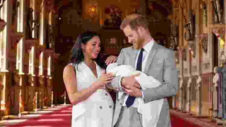 Príncipe Harry se disse 'absolutamente encantado' com o nascimento de seu filho, Archie - PA Media