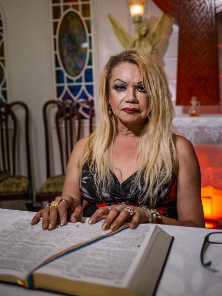 Jacque Chanel fundou a Igreja Trans ICM Séforas em São Paulo - Tuane Fernandes/UOL