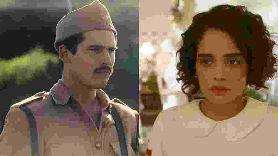 Alfredo (Nicolas Prattes) se envolverá com Inês (Carol Macedo) - Reprodução/Globo