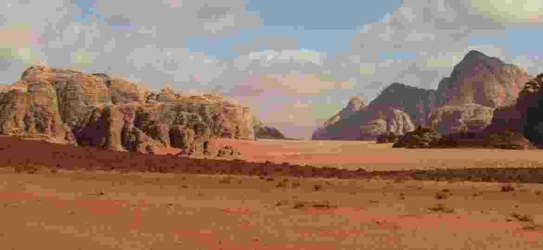 A paisagem de Wadi Rum, deserto que lembra Marte em plena Jordânia - Marcel Vincenti/Arquivo pessoal