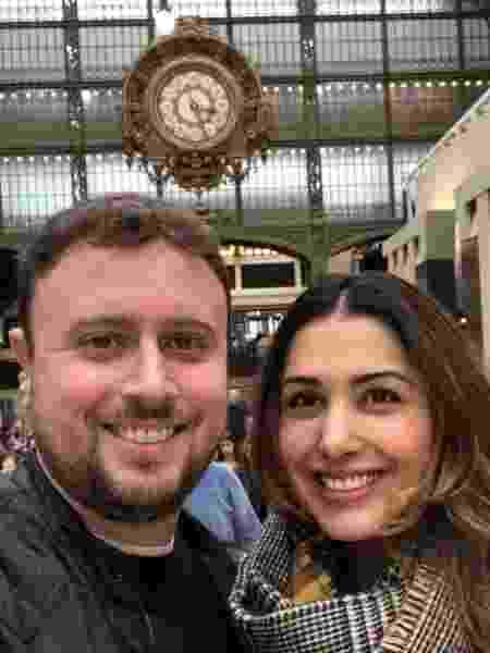 Renata e Fernando adiaram o casamento, que seria dia 20/4 para fevereiro do ano que vem  - Arquivo Pessoal