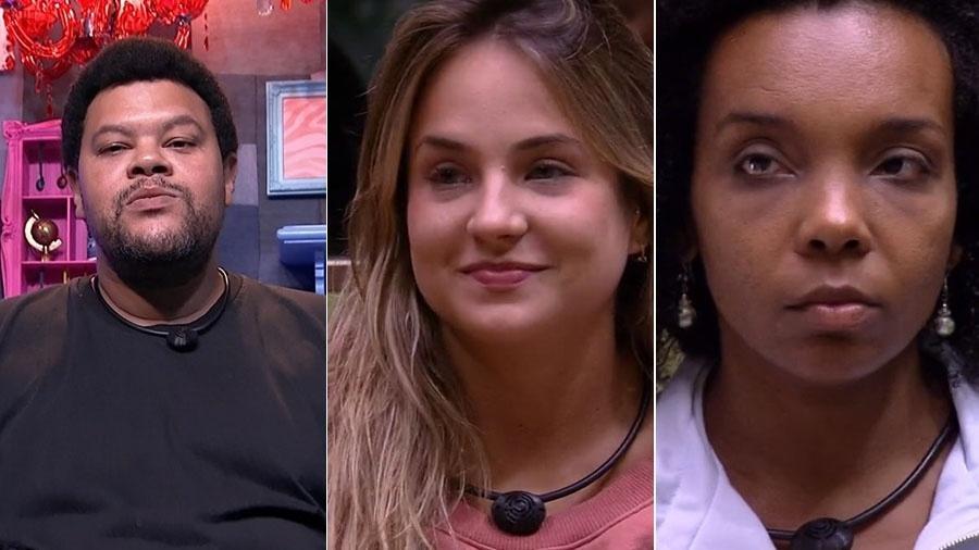 Babu, Gabi e Thelma estão no paredão - Reprodução/TV Globo