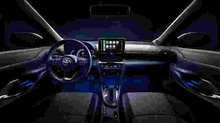 Toyota Yaris Cross Hybrid 2 - Divulgação - Divulgação