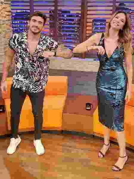 Guilherme Napolitano fala sobre affair com Gabi Martins - Divulgação/RedeTV!