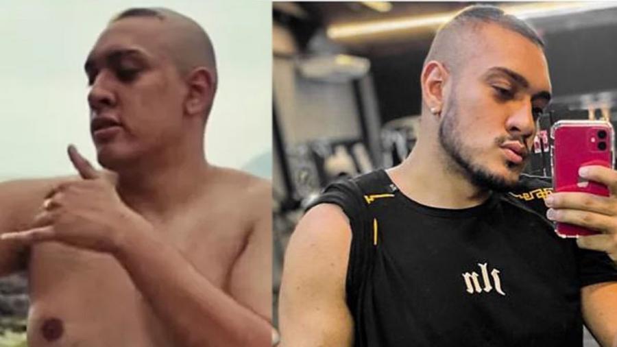 MC Bin Laden, antes e depois da perda de peso - Reprodução/Instagram