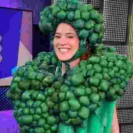 BBB 21: Ana Clara apareceu na com fantasia de brocólis usada por Projota - Reprodução/Instagram - Reprodução/Instagram