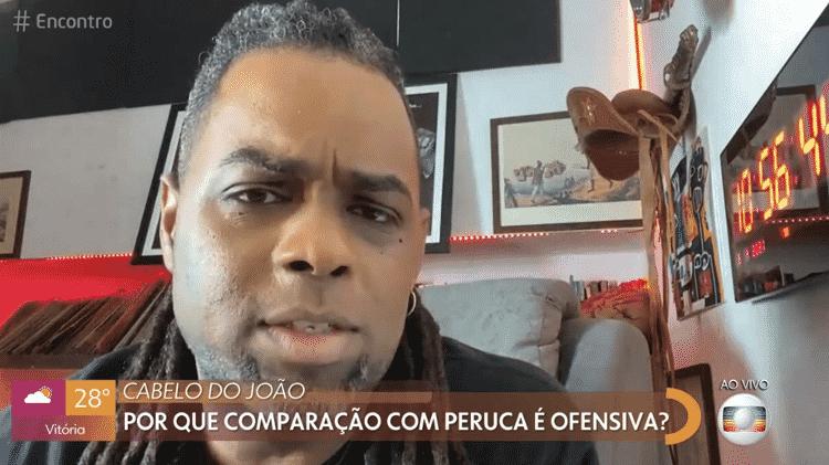 Manoel Soares comenta racismo com João Luiz no 'Encontro com Fátima Bernardes' - Reprodução/Globoplay - Reprodução/Globoplay