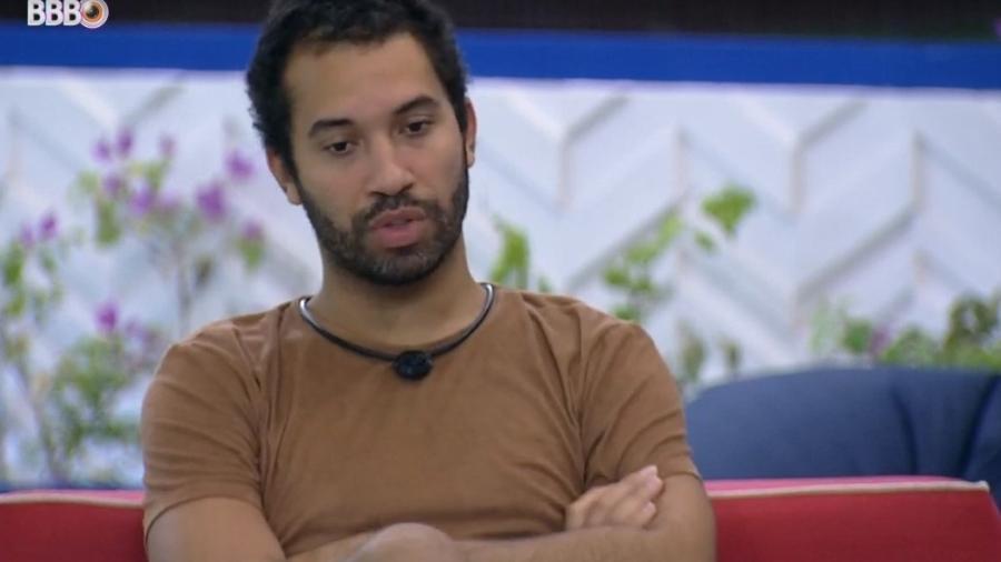 BBB 21: Gilberto diz que está tranquilo com noite de eliminação - Reprodução/ Globoplay