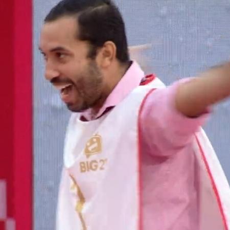 Gilberto caiu no golpe de Viih durante a prova do líder - Reprodução/Globoplay