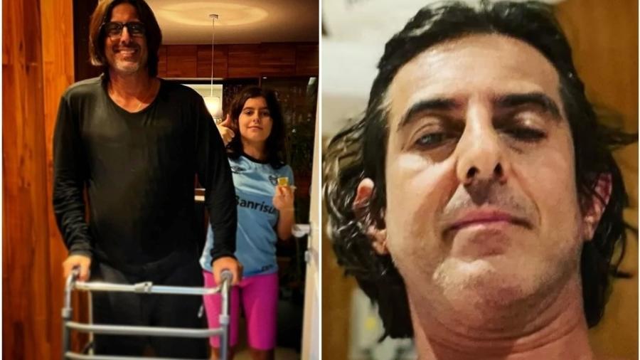 Adriano Melo recebeu alta do hospital - Reprodução: Instagram