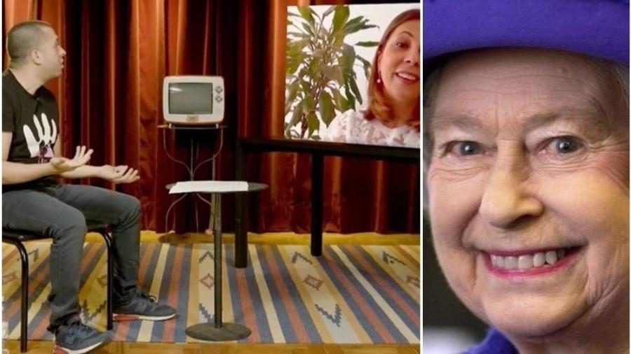 Danielle Cabral trabalhou por seis para a rainha Elizabeth 2º - Reprodução: YouTube