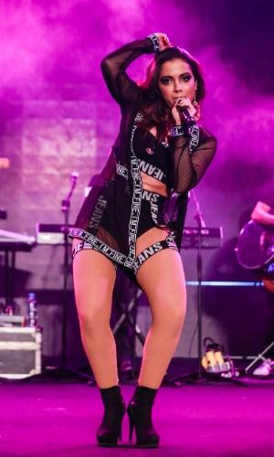 A cantora Anitta, que acaba de lançar o álbum