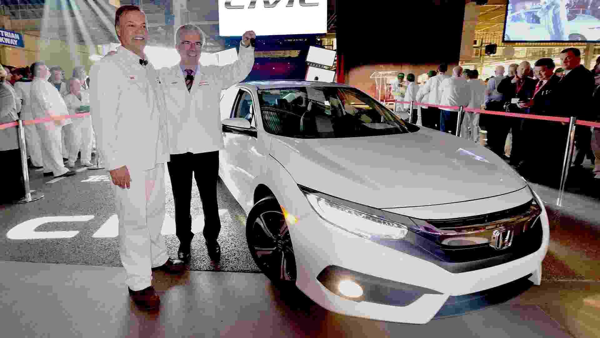 Honda Civic de 10ª geração - Divulgação